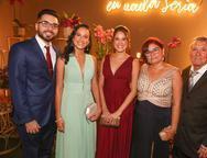 Pedro Bringel, Larissa, Juliana, Ely e Capistrano Guimar�es