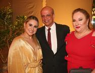 Roberta, Wagner Fernandes e Luiziane Cavalcante