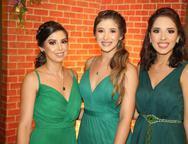 Gabriella Cavalcante, Vanessa Chavier e Amanda Medeiros
