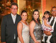 Iener, Adriana Macedo, Ana Luisa Almeida, Valentina e Diego Barbosa