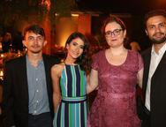 Jo�o Pedro, Mariana Priscila e Audemir Cavalcante