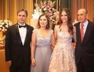 Andre, Gyna, Lyna e Luciano Machado