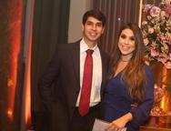 Pedro Pinheiro e Lia Albuquerque