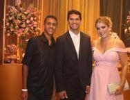 Pedro, Magno Alves e Natalia Varela