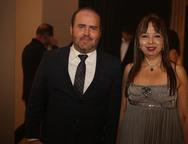 Roberto Pomplona e Marjorie Barreira