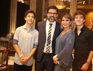 Pedro, Rodolfo, Jeritza e Gustavo Gurgel