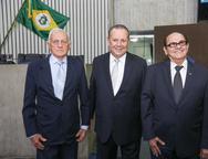 Marconi Coelho, Ernani Barreira e José Airton Boris