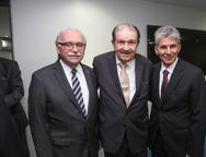 Ednilton Soarez, Mauro Benevides e Pádua Lopes