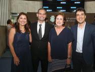 Ana Cristina e Tasso Melo, Magda e  Gonzalo Mota