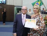 Fernando Ximenez e Marcilene Pinheiro