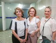 Maria Luiza Bonfin, Lurdinha Leite Barbosa e Renine Lima Verde