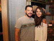 Bruno Ara�jo e Mayara Garcia