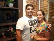 Jo�o Luiz e J�ssica Rebou�as