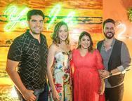 Itaqu� Figueiredo, Patr�cia Sampaio, Nat�lia Teixeira e M�rcio Aldiguere