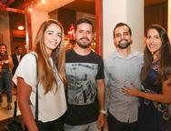 Aline Chaves, Samuel Fales, Elton Castro e Ludmila Varela