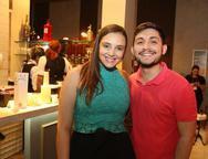 Sarah Soarez e Jo�o Gabriel Damasceno