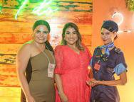 Rebeca Bessa, Natalia Teixeira  e Talita Basilio