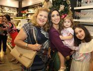 Diana Cavalcante, Renata, Olivia e Isabela Marinho