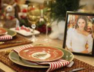 Lançamento das mesas de Natal na Maison Macedo