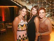 Pauliane Campos, Tamara Azevedo e Adriana Praxedes