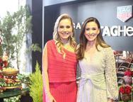Talyzie Mihaliuc e Giuliana Botelho