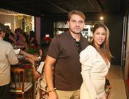 Rafael e Bruna Santos