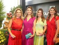 Germana Cavalcante, Rachel Teixeira, Eveline Fujita e Micheline Pinheiro