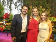 Vinicius Machado, Talyzie Mihaliuc e Lilian Porto