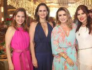 Cristiana Carneiro, Adriana Miranda, Jaqueline Maia e Zildinha Pessoa