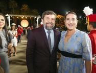 Élcio Batista e Patricia Macedo