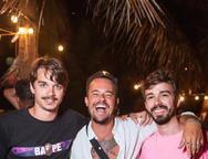 Victor Carvalheira, Paulinho Vilhena e Rafael Lobo