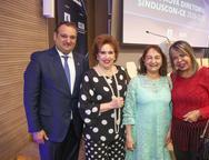 Patriolino Dias, Leda Maria, Gra�a Dias e Selma Cabral