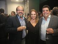 Elder Martins, Ilda Pamplona e Joaquim Caracas