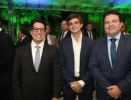 Andrey Aguiar, Adriano Huland e Fernando Ferrrer