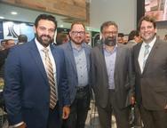 Cl�vis Holanda, Marcus Soares, Joc�lio Leal e Daniel Sim�es
