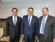 Salmito, Patriolino Dias e Reinaldo Salmito