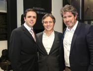 Francisco Philomeno, M�rcio Galiza e Jos� Fernando Rodrigues