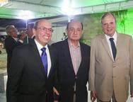 Andr� Montenegro, Renato Bonfim e Tasso Jereissati