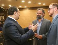 Patriolino Dias, Joc�lio Leal e Marcus Soares