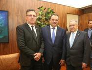Jos� Carlos Gama, Patriolino Dias e Jos� Carlos Martins