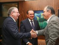 Ricardo Cavalcante, Washington Ara�jo e Jo�o Dummar Neto