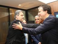 Erinaldo Dantas e Camilo Santana