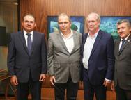 Washington Ara�jo, Jo�o Dummar Neto, Ciro Gomes e Ant�nio Henrique