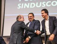 Roberto Cl�udio, Patriolino Dias e Camilo Santana