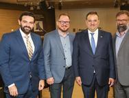Cl�vis Holanda, Marcus Soares, Patriolino Dias e Joc�lio Leal