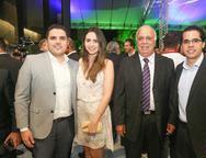 Rodrigo Castelo Branco, Juliana Quinder�, Walter e Walter Bastos Filho