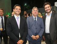 Rodrigo Borbon, Artur Valente e Ted Pontes