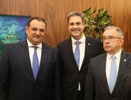 Patriolino Dias, Erinaldo Dantas e Jos� Carlos Martins