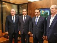 Ricardo Cavalcante, Washington Ara�jo, Patriolino Dias e Ciro Gomes