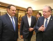 Patriolino Dias, Camilo Santana e Ricardo Cavalcante